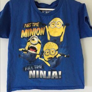 Other - part time minion full time ninja t-shirt